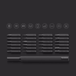 Image 5 - Набор отверток Xiaomi Mijia Wiha, комплект отверток с 24 точными магнитными насадками в алюминиевой коробке