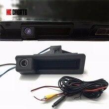 Он создать заднего вида Камера заднего хода резервное копирование загрузки багажника Ручка Камера специально для BMW 5 серии/X5/ 3 серии/X1 08-12 E39/E90