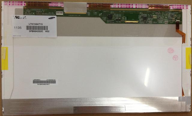 Envío gratis pantalla B156XW02 LP156WH2 N156BGE-L21 N156BGE-L0B LP156WH4 LTN156AT02 LTN156AT05 LTN156AT24 LCD panel de la pantalla