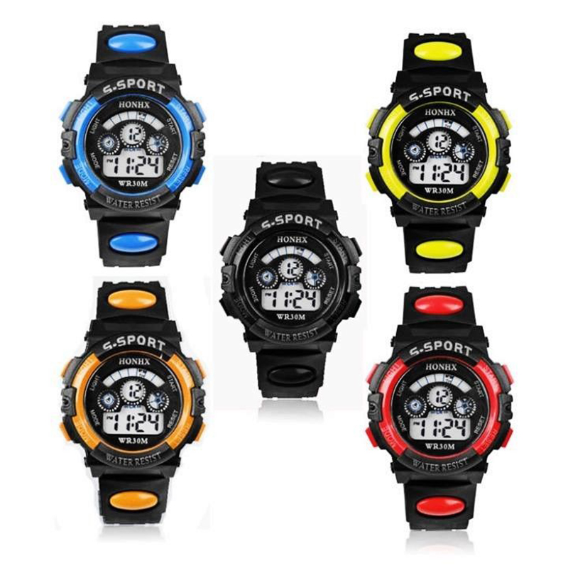 Luxury Brand Mens Children Sports Watches Dive Digital LED Watch Fashion Casual Waterproof Electronics Wristwatches Relojes