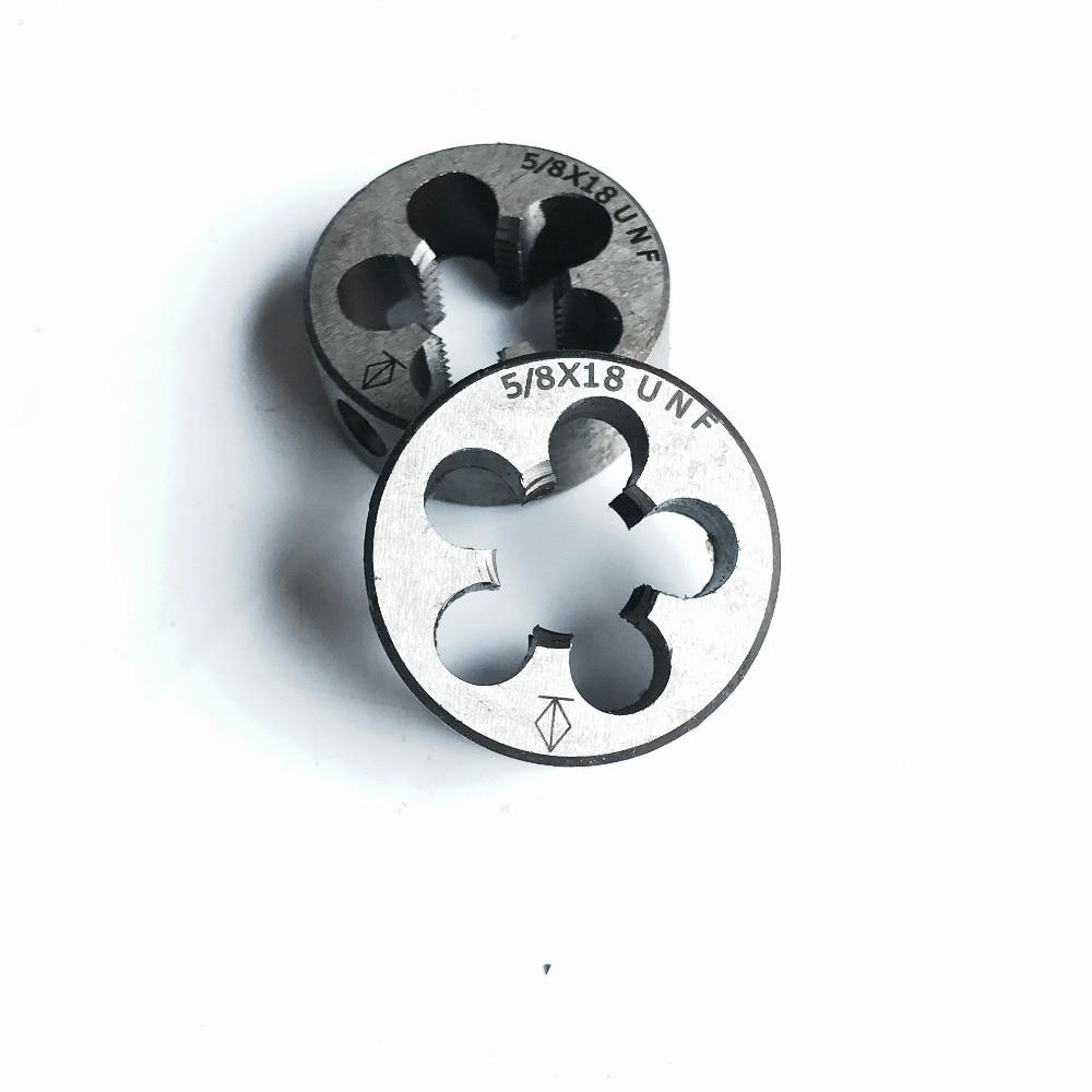 NEW 1pc HSS Machine 5//8-16 UN Plug Tap and 1pc 5//8-16 UN Die Threading Tool