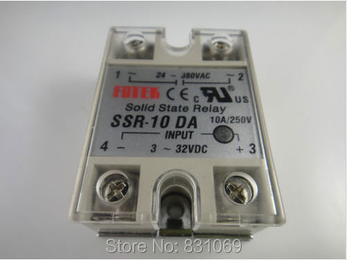 цена на 10Pieces/Lot Solid State Relay SSR-10DA 10A 3-32VDC/24-380VAC