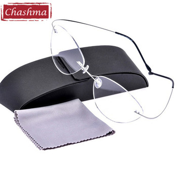 Chashma Yeni Marka Ultra Süper Elastik Titanyum Gözlük Çerçeve Ultralight Miyopi Reçete Gözlük