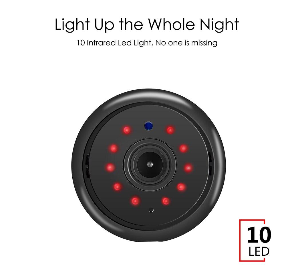 Wistino 960P Wireless IP Camera VR Mini WIFI Camera IR Night Vision Smart Home Security Camera Onvif Monitor Baby Monitor 2 (6)