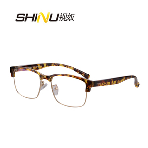 Image 4 - SHINU marki progresywne wielu ogniskowa obiektywu okulary do czytania pół ramką zobacz w pobliżu dalekiego + 100 + 150 + 200 + 250 + 300 + 350 SH018