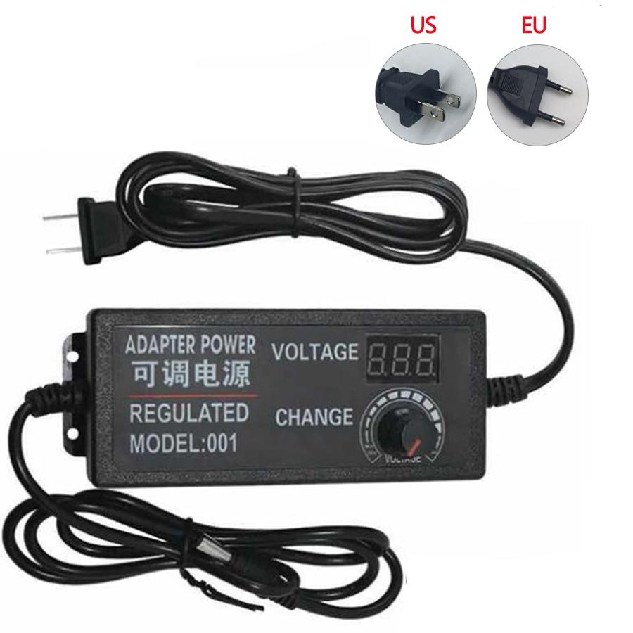 Adjustable AC To DC 3V 9V 12V 24V Universal Power Adapter Supply Display Screen Power Switching Charger Adatper 3 9 12 24 V Volt 100pcs lot 3 9v 3 9 volt 3v9 zener diode 1 2w 500mw 0 5w 0 5watt diodes do 35
