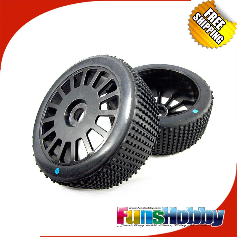 MCD 1:5 4WD Nitro RC Model Off Road Short Course Truck 180 mm Micro Stud Ultra Grip on 15 spoke wheel ASSY (COD.011102X0)