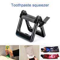 Plastic Toothpaste Cosmetics Tube Squeezer Dispenser Wringer Roller Home Use E2S