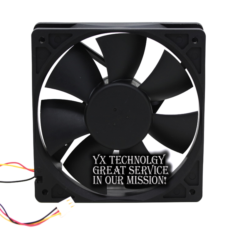 Image 4 - Delta New and Original AFB1212VH BL3V 12025 12V 0.60A 3lines dedicated fan for  120*120*25mm-in Fans & Cooling from Computer & Office