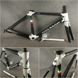 CARROWTER T1000 3K matowy-czarny błyszczący biały Colnago C60 rama rowerowa rama rowerowa z BB386 XS/S/M/L do wyboru