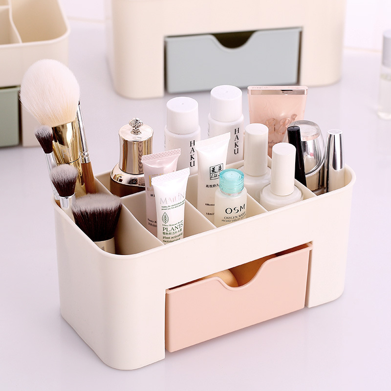 Storage-Box Drawer Jewelry Cosmetic Desktop Sundries Plastic Multifunctional Household