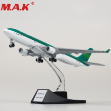 collectible 13cm airplane model toys Ireland airlines airbus 330 aircraft model diecast plastic allory plane gifts for kids цена