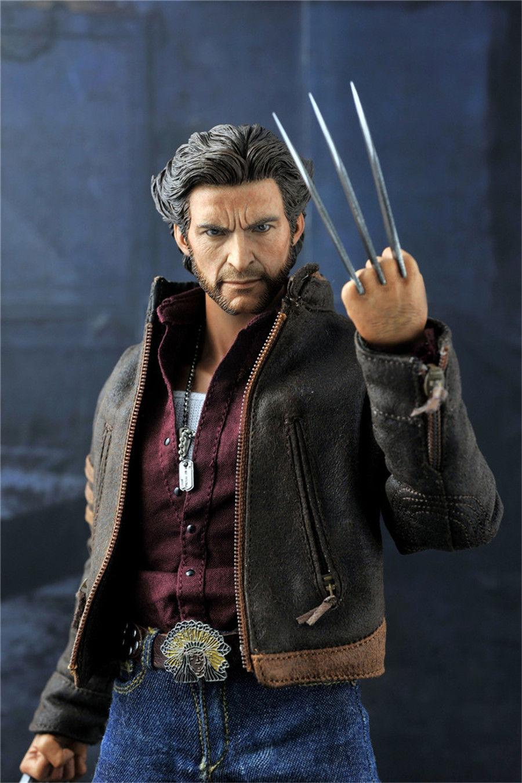 1//6 HOT FIGURE TOYS KO version X-Men Origins Wolverine Logan suit Hugh Jackman