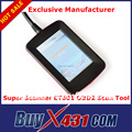 SuperOBD OBD2 Scanner ET601 Universal com 3.5 'Tela Sensível Ao Toque-OBDII EOBD Leitor de Código OBD2 Espanhol Alemão com fábrica preço