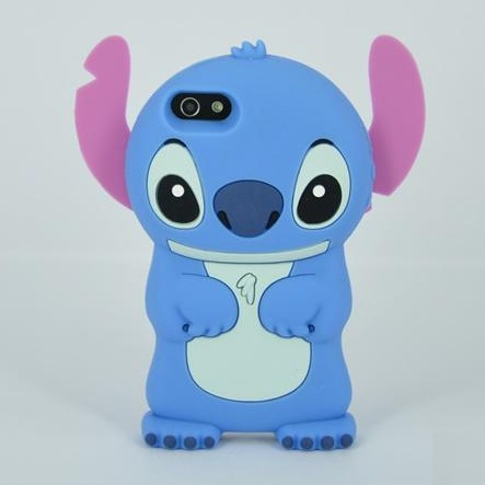 Lilo 3D Cartoon Stitch Soft Silicone Case Cover Apple iPhone 4 4G 4S 5 5G 5S SE 5SE 6 6S 7 Plus - Huaqiang On Line store