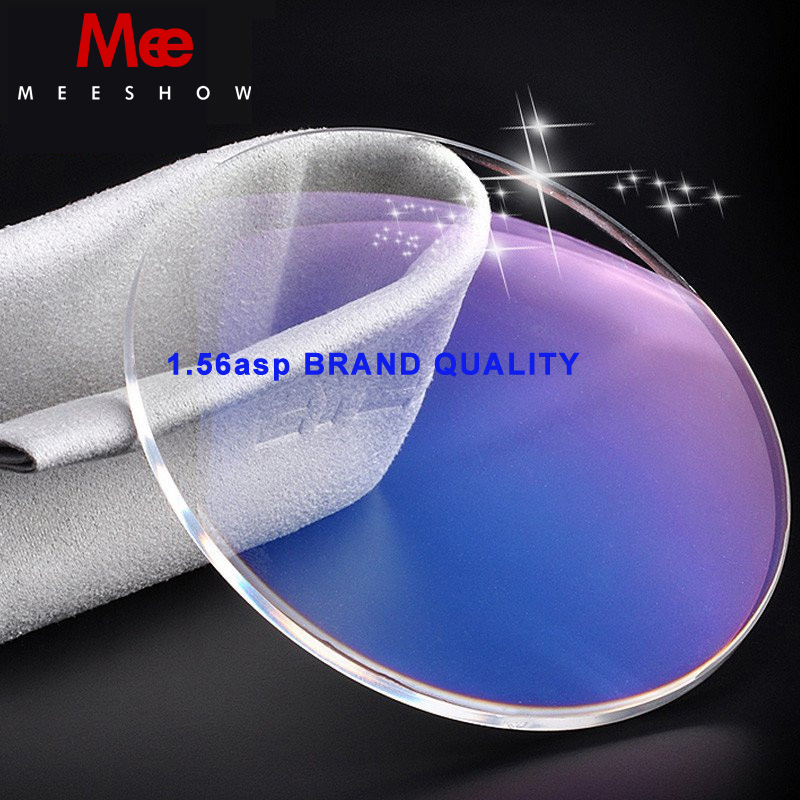 1.56 ASP Brand quality CR-39 Resin lenses Optical Lens Anti Reflective anti scrath Thin myopia prescription glasses lenses