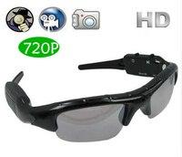 720 P Nieuwe Collectie Exclusieve Digitale Audio Video mini Camera DV DVR Zonnebril camo Sport Camcorder Recorder Voor Rijden Outdoor