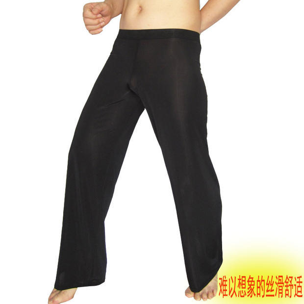 A men's leisure pants Home Furnishing pants pants thin silky Silk Trousers: 1304