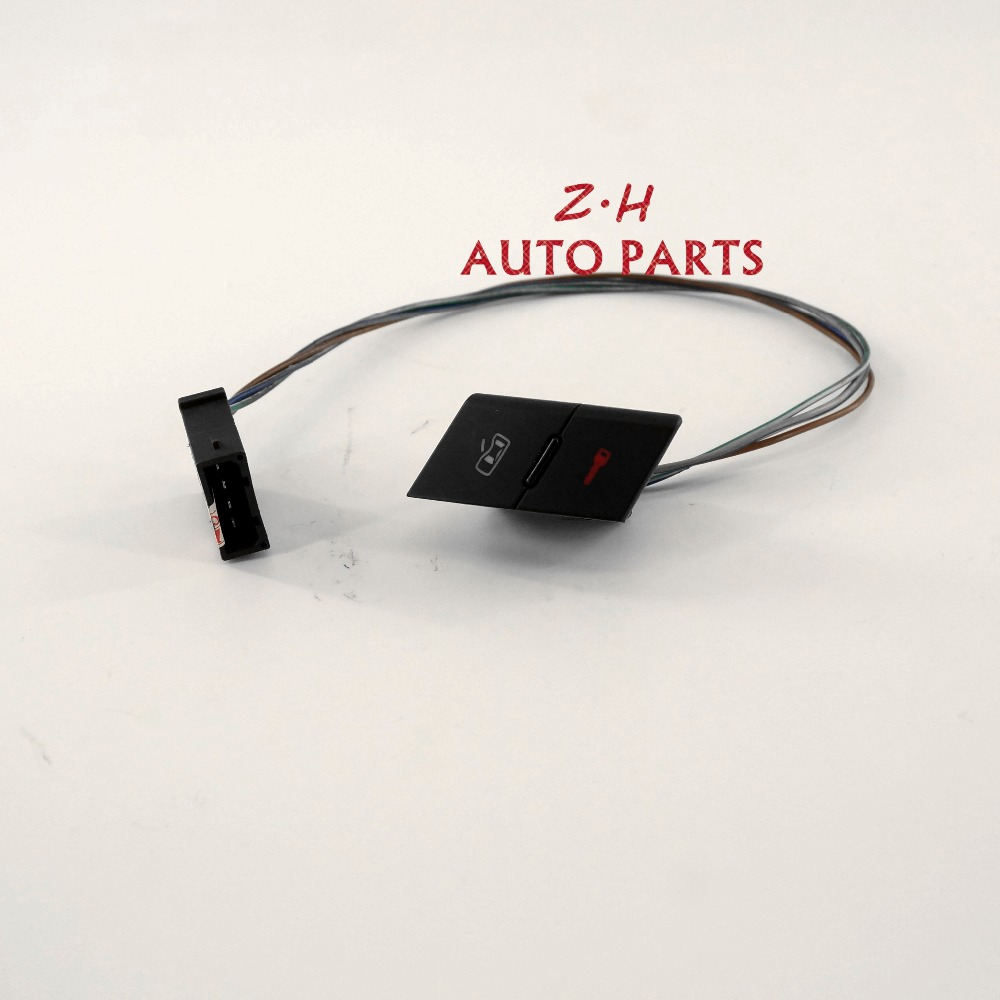 New 4B1962107 5PR Front Left Door Lock Unlock Control Button Switch For Audi A6 Allroad S6 4B1 962 107 B98