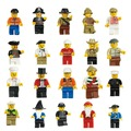 New Minifigures Men People Minifigs Toy Figures Figures  Lot of 20
