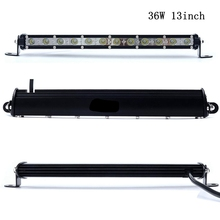 "13"" with Cree Chips LED Car Work Light 18W 36W 54W Bar Day Light LED Lamp Car Single Row 12V 24V Spot DRL For ATV Jeep ORV"