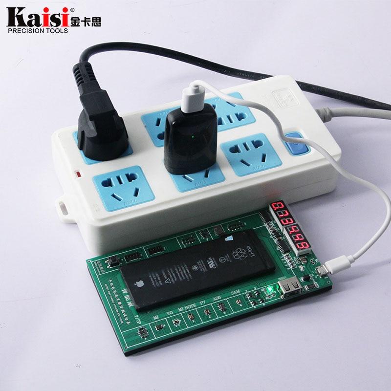 Kaisi K-9202 batería Activación de carga prueba para iPad iPhone X ...