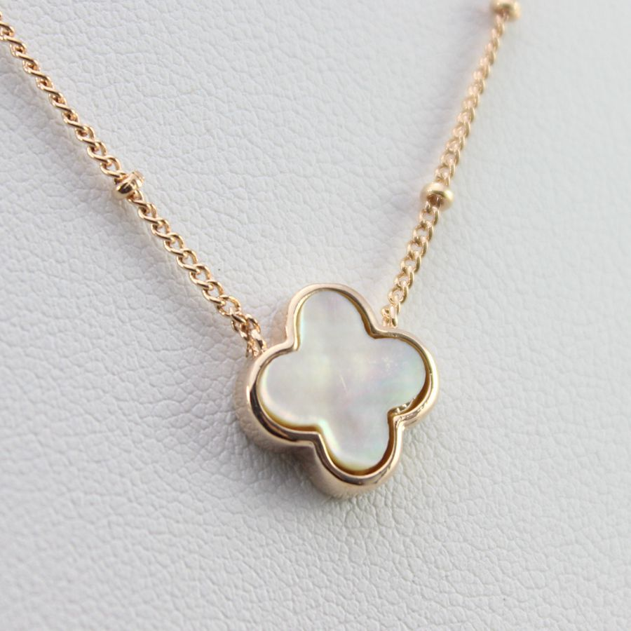 Fashion Clover Necklace For Women Luxury Statement Brand