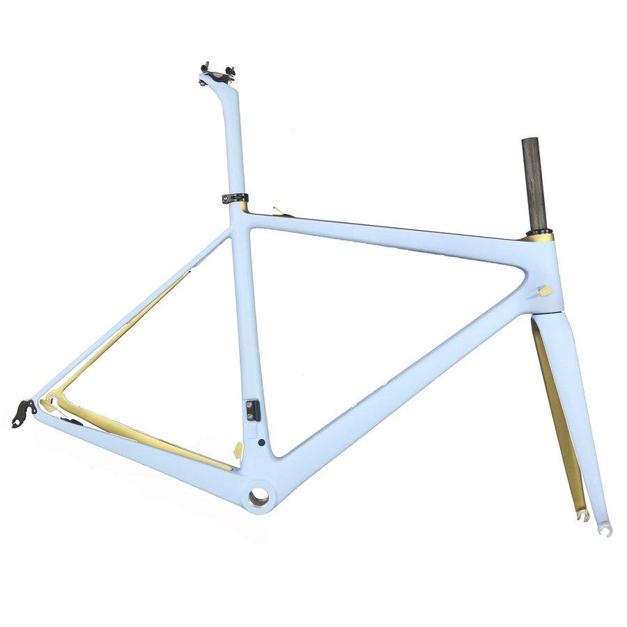 SERAPH High Quality Full Carbon Fiber Road Bike Frame FM686 Accepts  Custom Paint
