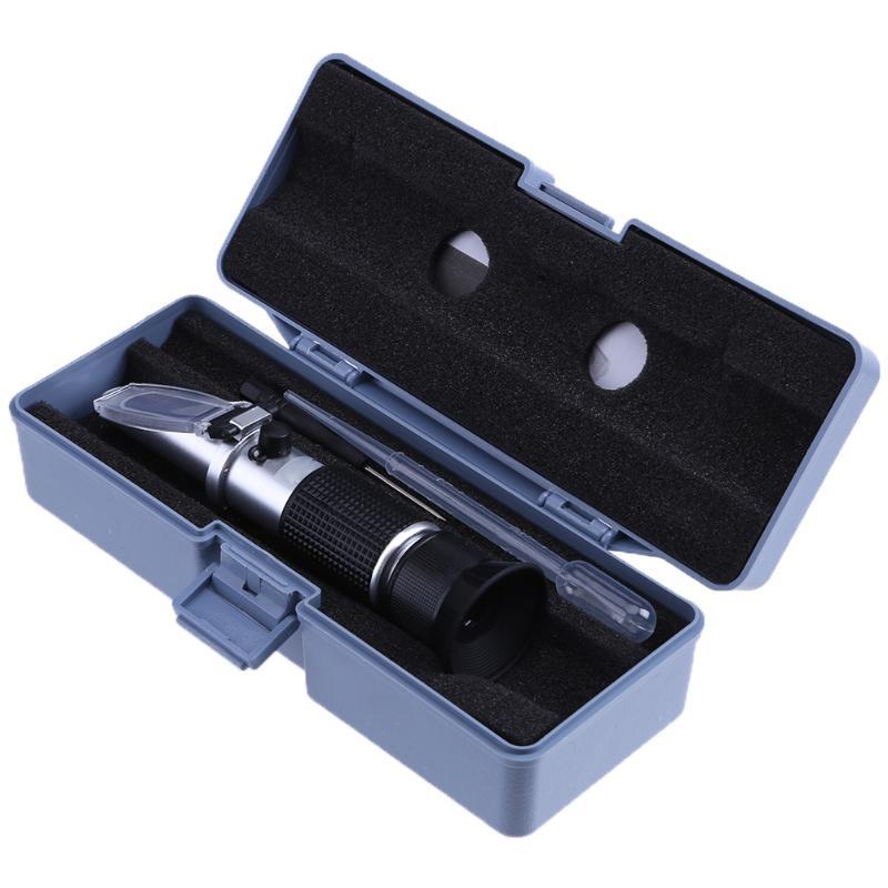Antifreeze Refractometer Handheld Freezing Point Engine Antifreeze Car Battery Ethylene Propylene Glycol Refractometer Meter антифриз mobil antifreeze ultra фиолетовый 1 л