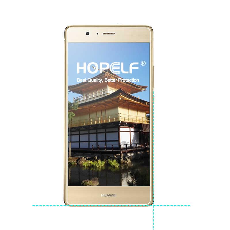 2 Pieces HOPELF Tempered Kaca untuk Huawei P9 Lite Tempered Kaca Screen Protector Film untuk Huawei Telepon P9 Lite