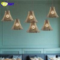 Loft Pendant Lamp American Style Industrial Metal Lamp Antique Style Restaurant Lamp Bar Hotel Project Lampe Bronze