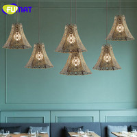 Loft Pendant Lamp American Style Industrial Metal Lamp Antique Style Restaurant Lamp Bar Hotel Project Lampe Bronze