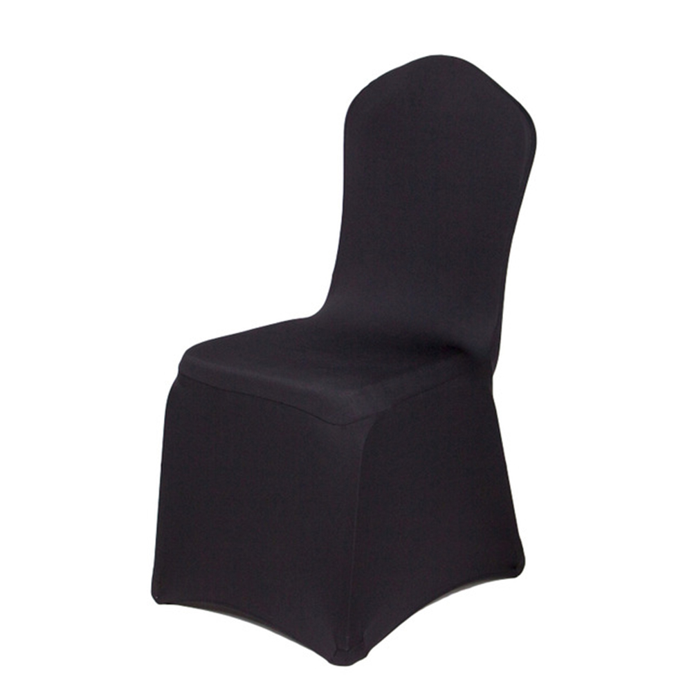 Home Textile Trend Mark 100pcs/lot Wholesale Universal Lycra Spandex Stretch Chair Cover Hotel Banquet Party Wedding Chair Covers 50% OFF