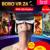 2016 hot google papelão bobovr z4 vr 360 graus de visualização 3d virtual imersiva experiência de 4.7 ''-6.2'' smartphone óculos de realidade