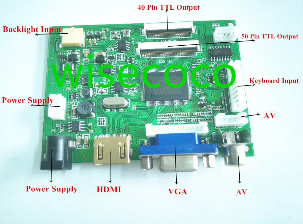 Good quality and cheap 40 pin lcd controller board in Store