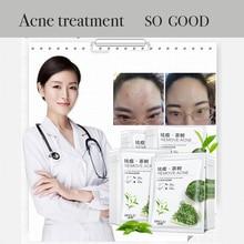 Tea  Face mask Acne Facial Oil Control Anti Skin Care Clear Moisture sheet korean mascarilla maske masks