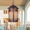 Американский стиль ретро водонепроницаемые подвесные светильники коридорные светильники Сад парки подвесной светильник ya711 ZL252