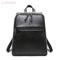 Charming Nice CONEED Best Gift CONEED Women Backpacks Trvel Lether Rucksck Shoulder School Bag Drop Shipping