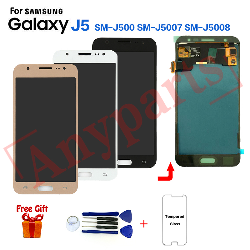 TFT For SAMSUNG Galaxy J5 SM-<font><b>J500F</b></font> J500FN Display <font><b>lcd</b></font> Screen Replacement for Samsung SM-J500G J500M J5008 <font><b>lcd</b></font> display module image