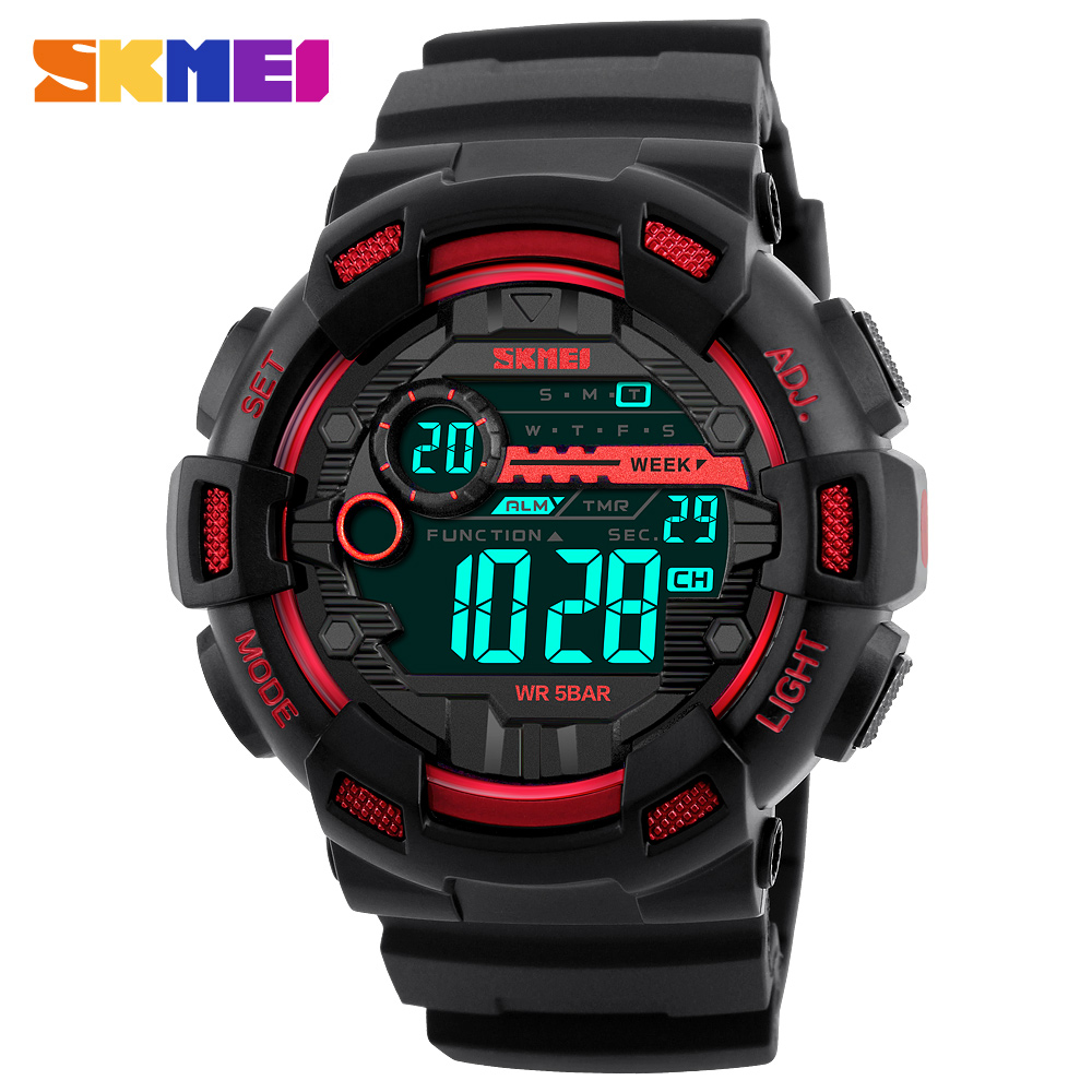 SKMEI Fashion Double Time Multifunction Digital Watch Men LED Swimming Waterproof Outdoor Sport Dress Men Student WristwatchesSKMEI Fashion Double Time Multifunction Digital Watch Men LED Swimming Waterproof Outdoor Sport Dress Men Student Wristwatches
