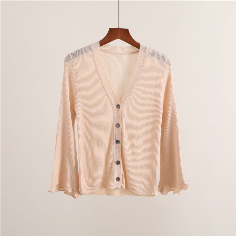 ff7e25332175 2019 2018 New Spring Summer Women Knitted Cardigan Mujer Female One ...