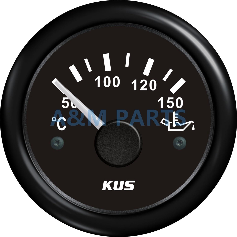 medium resolution of kus marine mechanical oil pressure gauge for boat yacht 12 24v 0 sunpro tach wiring diagram temperature gauge wiring yacht
