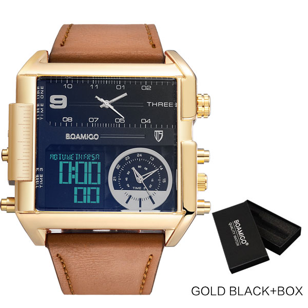 new gold black box