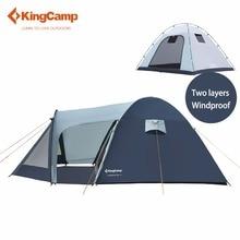 KingCamp Camping Zelt feuerfesten 3-personen Zelt Wasserdicht 3-Season Außenzelt für Familie Camping Ultraleicht zelt