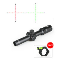 Hell Sell Tactical 2.5 10X26 FFP Rifle Scope Red /Green Illuminated Scope for Outdoor hunting VI1001