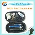 MT3 EVOD Torção Dupla kits de Cigarro Elétrico kit EVOD MT3 e cigarro EVOD Bateria Torção cigarro eletrônico e Atomizador líquido
