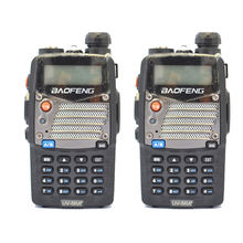 2 шт двусторонняя радиосвязь baofeng uv 5ra + plus walkietalkie