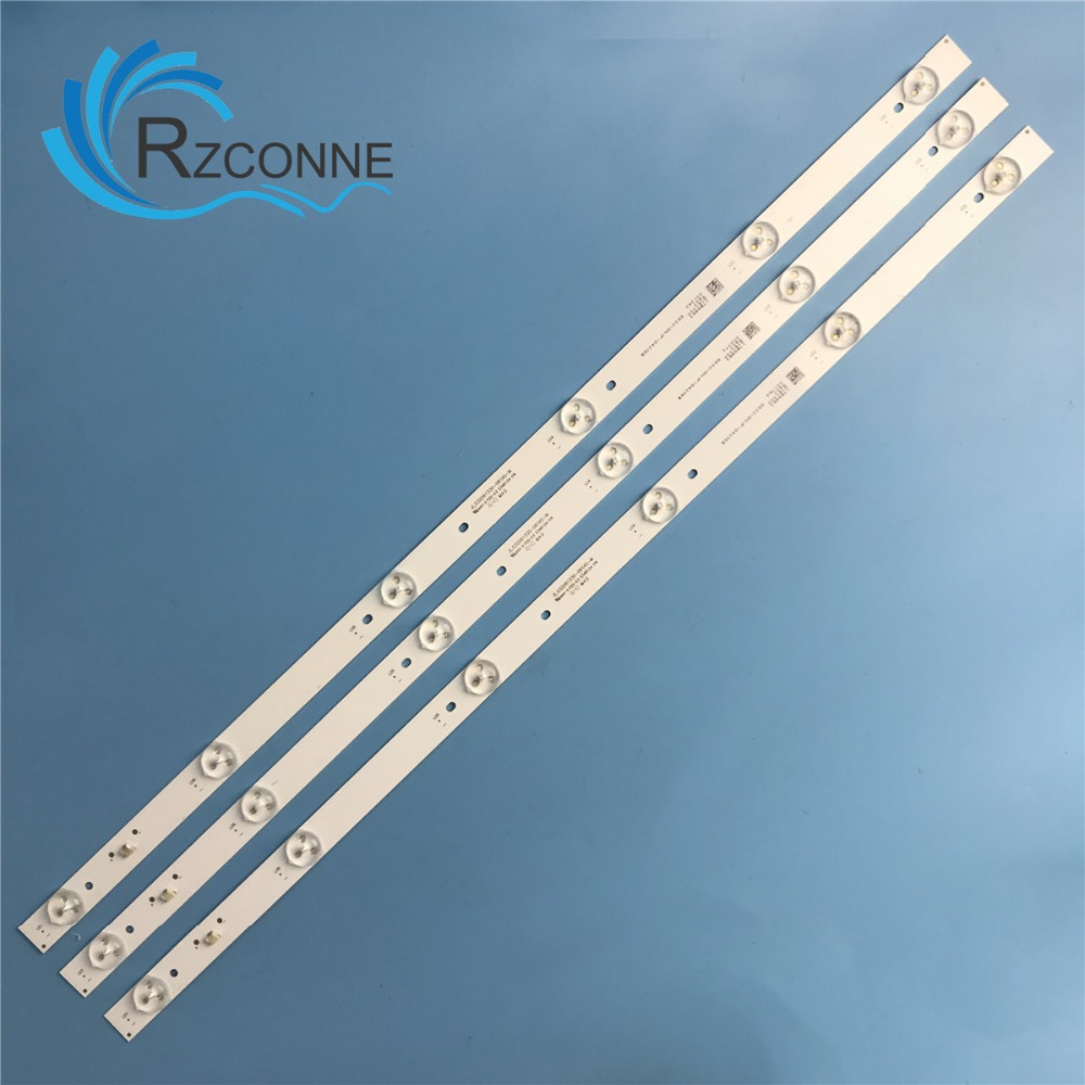 580mm LED Backlight Strip 6 Lamps For Tv JL.D32061330-081AS-M FZD-03 E348124 HM  6V/LED Input