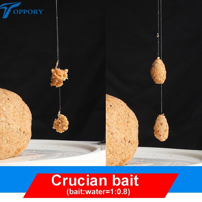 Toppory 1 Bag 120g Herabuna Fishing Bait Crucians Carp Bait Hera Taiwan Fishing Bait Hand Rod Fishing Fish Dough Bait Additives