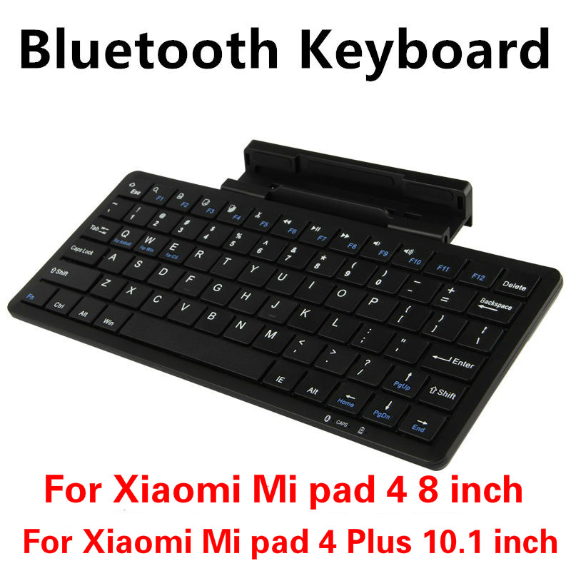 Tablets & E-books Case Straightforward Wireless Keyboard For Xiaomi Mi Pad 4 Mipad4 8 Inch Bluetooth Keyboard For Xiaomi Mi Pad 4 Mipad4 Plus 10.1 Inch Tablet Case Strengthening Waist And Sinews Tablet Accessories